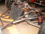 Coolant tubing and radiator